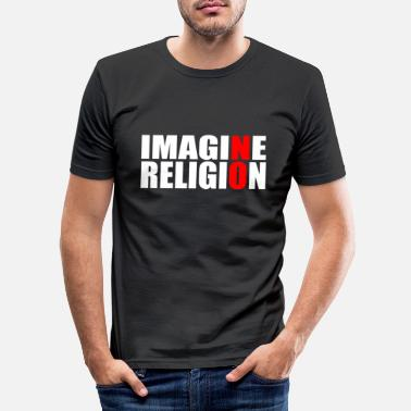 Religion RELIGION AN! - Männer Slim Fit T-Shirt