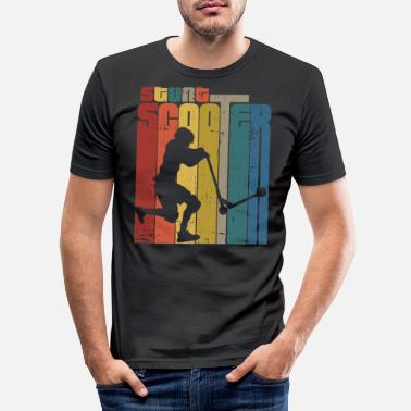 Teenager Scooter - Men's Slim Fit T-Shirt