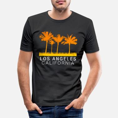 Los Angeles Los Angeles California - Men's Slim Fit T-Shirt