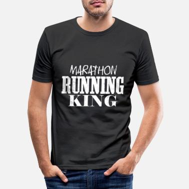 King Marathon runner King | Running Running Men - Men's Slim Fit T-Shirt