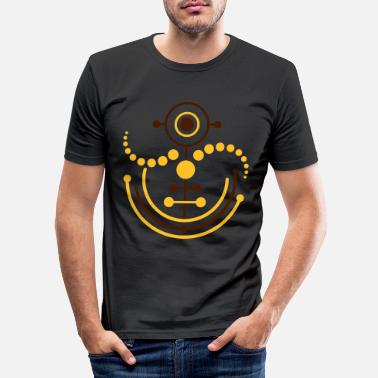 Crop Circle Crop circle 8 | crop circle - Men's Slim Fit T-Shirt