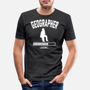 Geographic Future Geographer - Men's Slim Fit T-Shirt