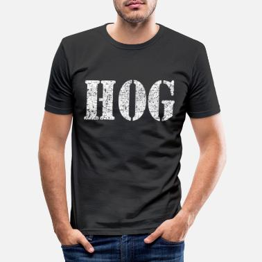 Hog hog - Men's Slim Fit T-Shirt