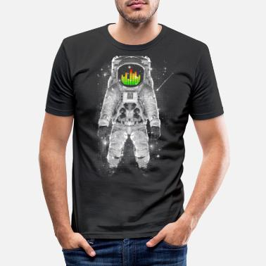 Astronaut Astronomical Levels - Men's Slim Fit T-Shirt