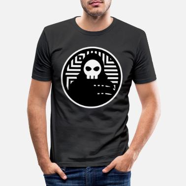 Skull Grim Reaper is waiting for you too - Death - Men's Slim Fit T-Shirt