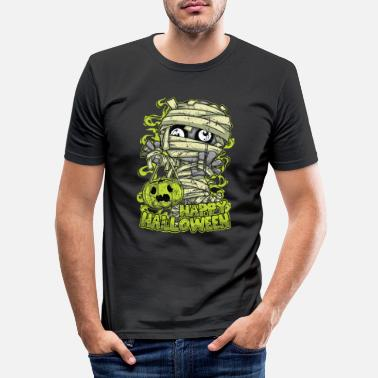 Brother Funny gift Halloween horror costume shirt - Men's Slim Fit T-Shirt