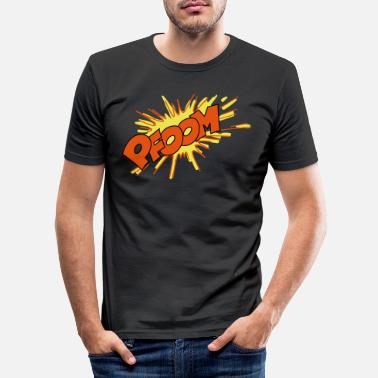 Explosion explosion - T-shirt slim fit herr