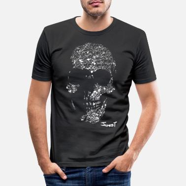 Skull Skull - Men's Slim Fit T-Shirt