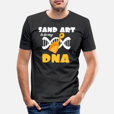 Sand sand sculpture - Men's Slim Fit T-Shirt