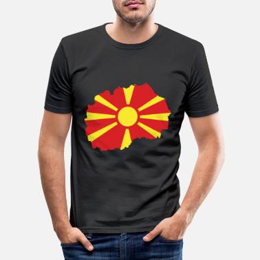 Macedonia Macedonia - Macedonia - Македонија - Macedonia - Men's Slim Fit T-Shirt