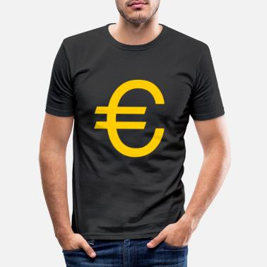 Euro Euro - Männer Slim Fit T-Shirt