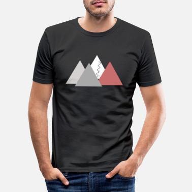 Sports Mountains; mountains - Men's Slim Fit T-Shirt