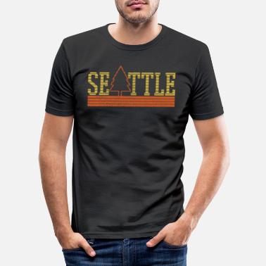 Seattle Seattle - T-shirt moulant Homme
