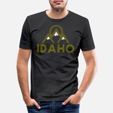Idaho Idaho - Men's Slim Fit T-Shirt