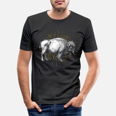 Animal Welfare Buffalo animal welfare - Men's Slim Fit T-Shirt