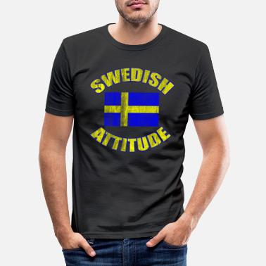 Scandinavie Suède - T-shirt moulant Homme