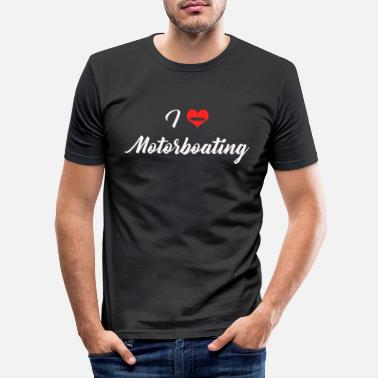 Motorboot Motorboot - Männer Slim Fit T-Shirt