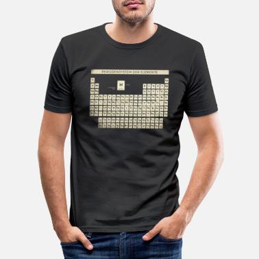 Periodic Table Periodic Table Shirt Vintage - Men's Slim Fit T-Shirt
