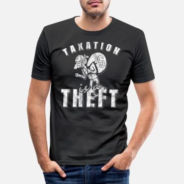 Theft Kontroll Theft kontroll - Slim fit T-skjorte for menn