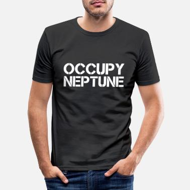Occupare Occupare Nettuno - Maglietta slim fit uomo