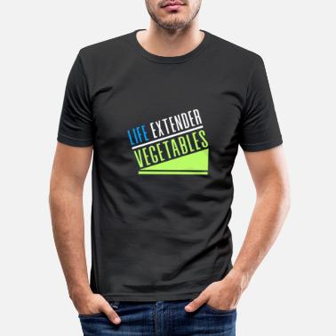 Life Extending LIFE EXTENDER - Men's Slim Fit T-Shirt