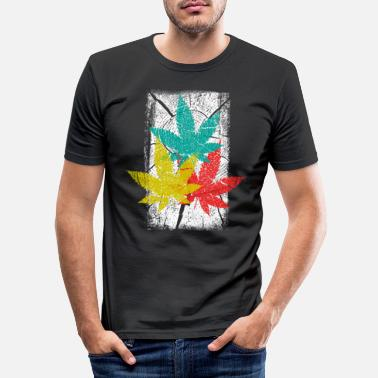 Hanf HANF CANNABIS - T-shirt moulant Homme