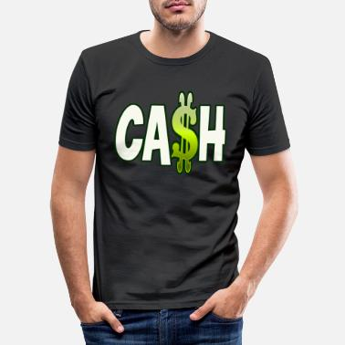 Cash Cash - Männer Slim Fit T-Shirt