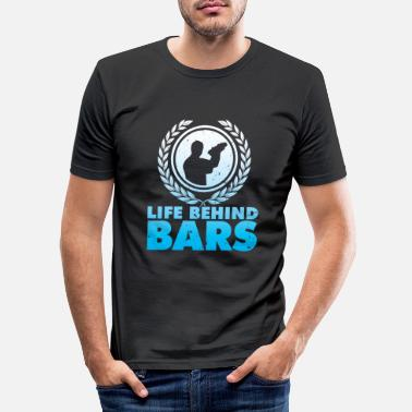 Bar bar - Slim fit T-shirt mænd