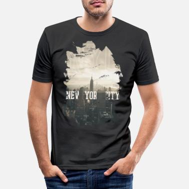 Nyc NYC - Men's Slim Fit T-Shirt