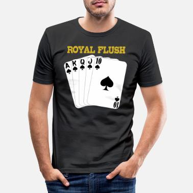 Royal Flush Royal flush - Men's Slim Fit T-Shirt