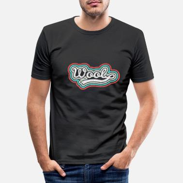 Wool Wool wool - Men's Slim Fit T-Shirt