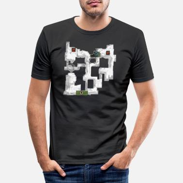 DD2 Dust 2 Dust2 CSS CSGO Gaming Gift - Slim fit T-shirt mænd
