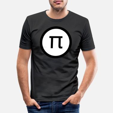 Intensified Course Pi math - Men's Slim Fit T-Shirt