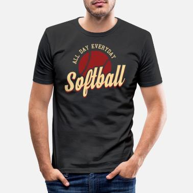 Softball Softball Gift - Men's Slim Fit T-Shirt