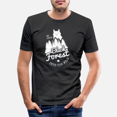 Black Forest Leible Be Free - Men's Slim Fit T-Shirt