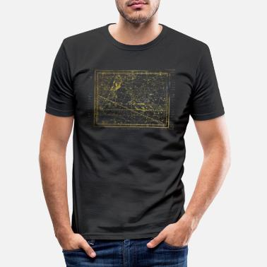 Horoscope Pisces star map - Men's Slim Fit T-Shirt