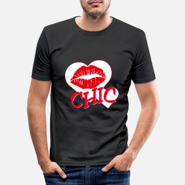 Chic Chic - Men's Slim Fit T-Shirt
