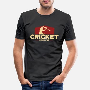 Spielernummer Cricket since 1756 - Men's Slim Fit T-Shirt