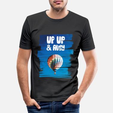 Up Up Up & Away - Men's Slim Fit T-Shirt