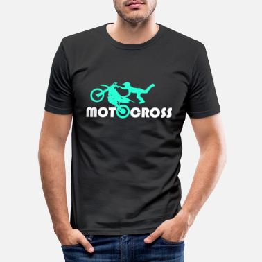 Racing Machine Motocross - Men's Slim Fit T-Shirt