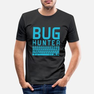 Internet Insectenjager - Mannen slim fit T-shirt