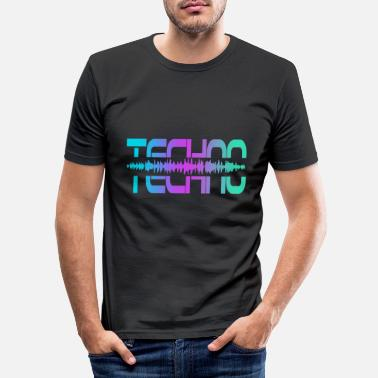 Raver Techno Rave Raver - Männer Slim Fit T-Shirt