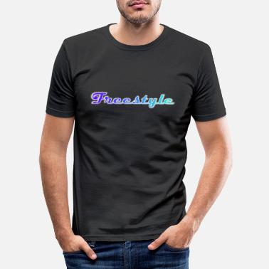 Freestyle Freestyle - Mannen slim fit T-shirt