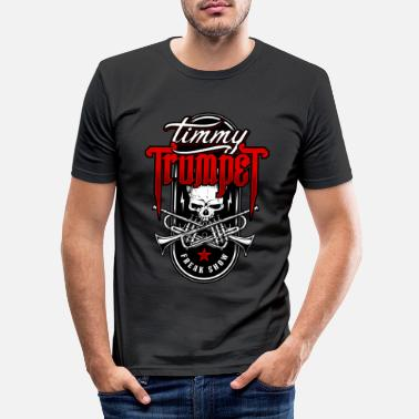 Trumpette Timmy Trumpet Skull - T-shirt moulant Homme
