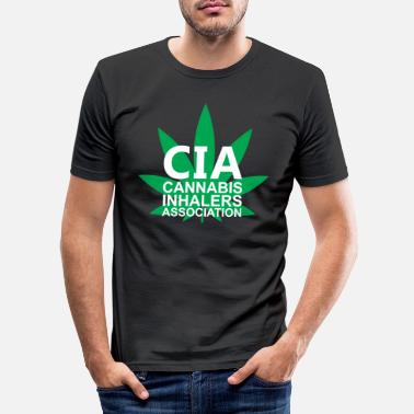 Inhalera Cannabis Inhalers Association - T-shirt slim fit herr