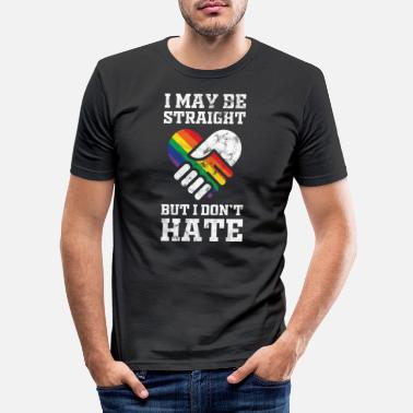 Homosexuality LGBT homosexuality rainbow - Men's Slim Fit T-Shirt