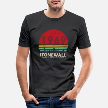 Was 50th Anniversary Stonewall 1969 Was A Riot LGBTQ - T-shirt moulant Homme