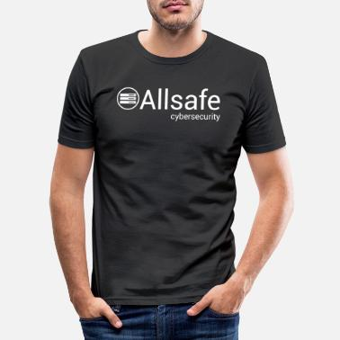 Mr Robot Mr Robot - Allsafe Cybersecurity - Männer Slim Fit T-Shirt