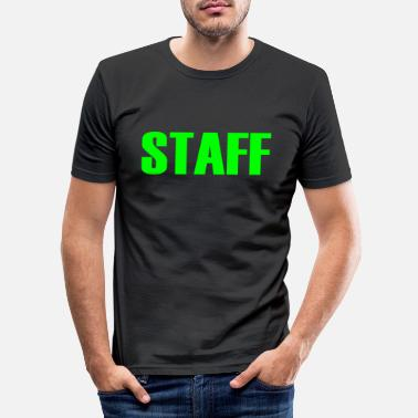 Staff Staff - Men's Slim Fit T-Shirt