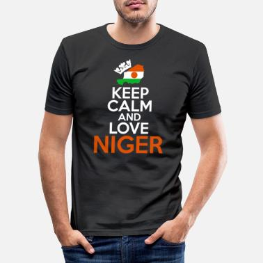 Niger Niger - T-shirt slim fit herr